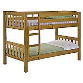 Verona America Bunk Bed Frame - Single - Antique Lacquer