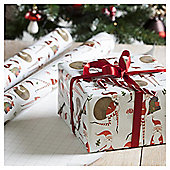 Santa Christmas Wrapping Paper, 4m