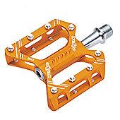 Wellgo C162 Trekking CNC Platform Sealed Pedal - Silver