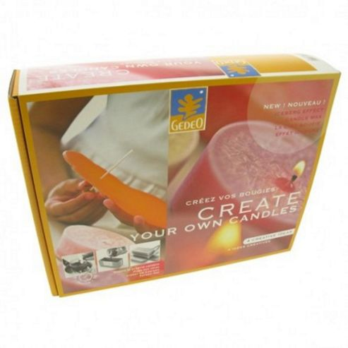 Gedeo Create Your Own Candles Kit