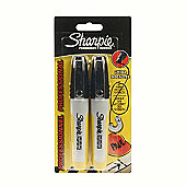 Sharpie Professional Black Marker 2 Pack - Chisel