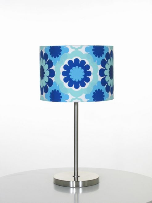 Globen Lighting Retro One Light Table Lamp - Blue