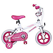 "Terrain 12"" Kids' Bike with Stabilisers, Pink"