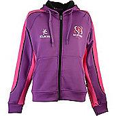 Kukri Ulster Ladies Blast Fleece Hoodie 15/16 - Purple