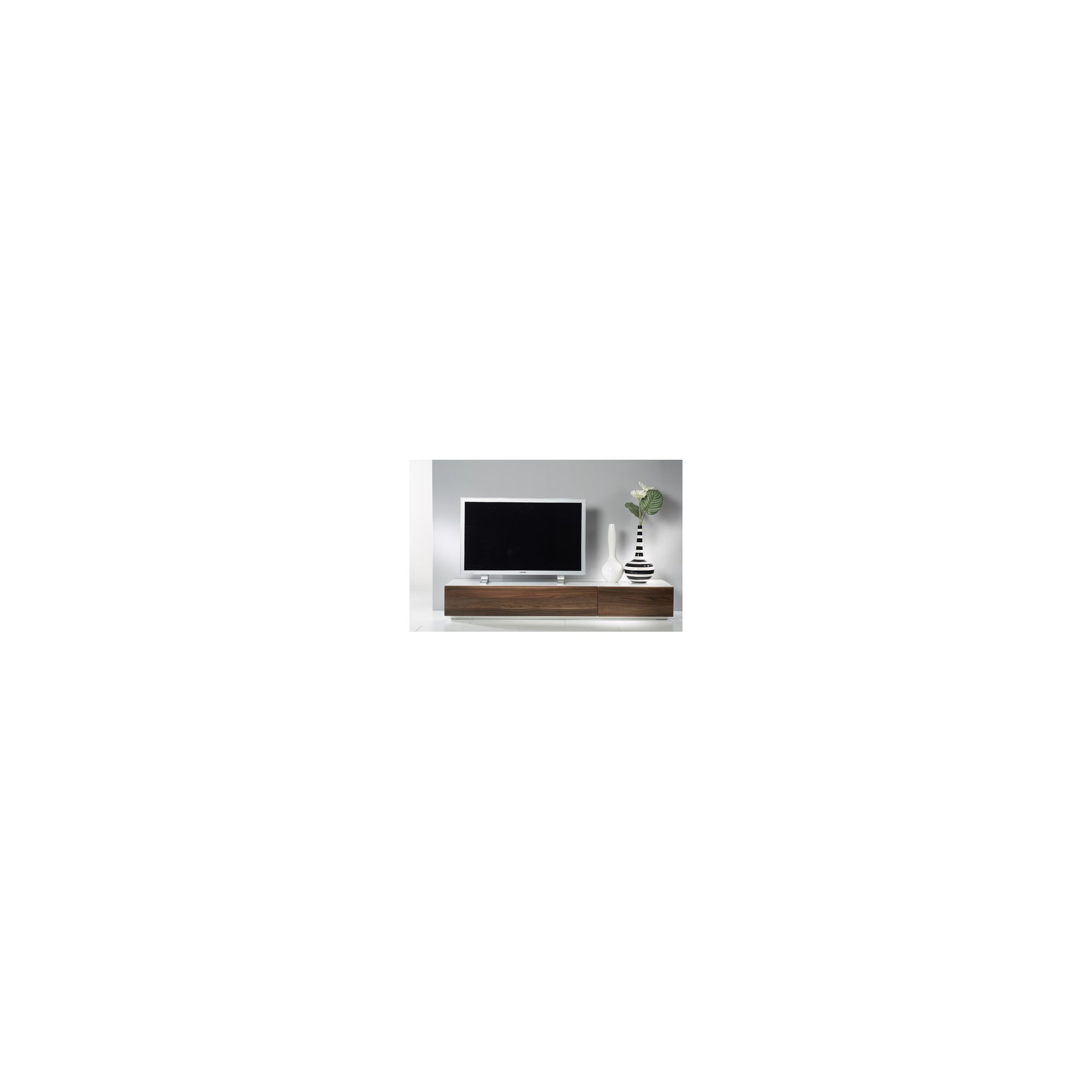 Tvilum Monaco Combination 44 Wooden TV Stand - White at Tesco Direct