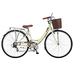 "2016 Viking Piccadilly 16"" Ladies Traditional 7 Speed Bike Ivory"