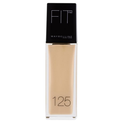 Maybelline Fit Me Foundation 125 Nude Beige