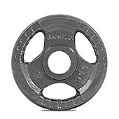 Bodymax Olympic Cast Iron Tri-Grip Weight Disc Plate (Single) - 5kg