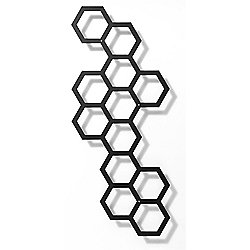 FLORA Comb-Ination Trellis in Black - Small