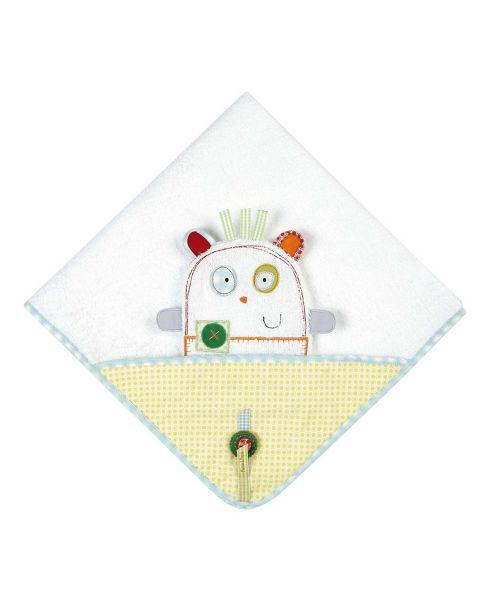 Mamas & Papas - Gingerbread - Hooded Bath Towel & Wash Mitt Set