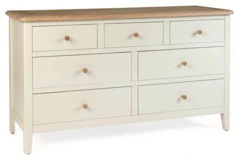 Kelburn Furniture Cottage 7 Drawer Chest