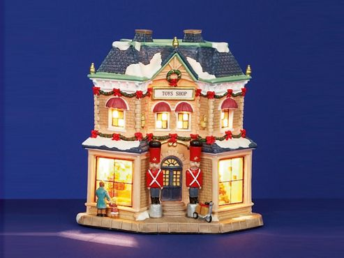 Premdec Li112003 Ceramic Lit Toy Shop 20Cm