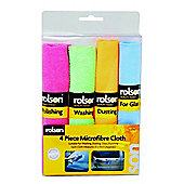 4-Piece Micro-Fibre Cloth Set