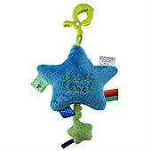 Label Label Musical Pull-String (Green/Blue)