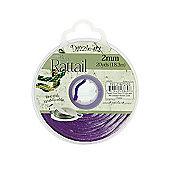 Rattail with Re-Useable Bobbin - Dark Purple - 20yds