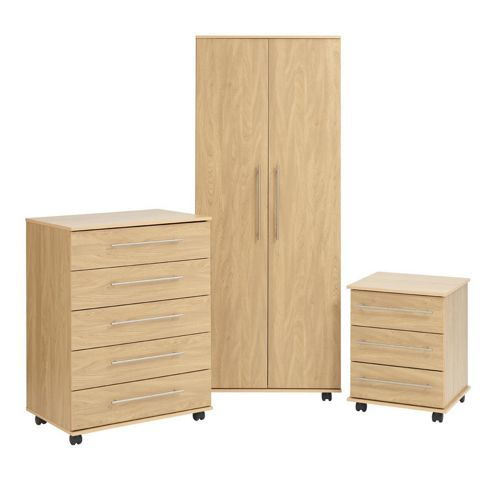 Ideal Furniture Bobby Bedroom Collection - Oak