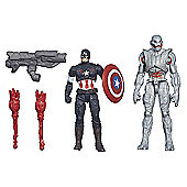 Marvel Avengers Age of Ultron Captain America Vs. Ultimate Ultron