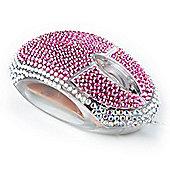 Computer Mouse - Diamante Pink