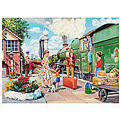 Ravensburger Train Driver 500 Piece Jigsaw Puzzle
