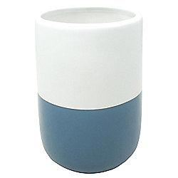 Tesco Teal Dipped Ceramic Tumbler