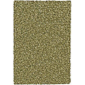 Mastercraft Rugs Twilight Green Shaggy Rug - Runner 65cm x 130cm (2 ft 1 in x 4 ft 3 in)