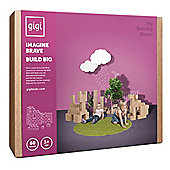 GIGI Bloks Giant Building Blocks (60 Blocks)