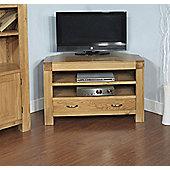 Ametis Santana Blonde Oak Corner TV Unit