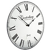 Tesco Canterbury Mirrored Clock