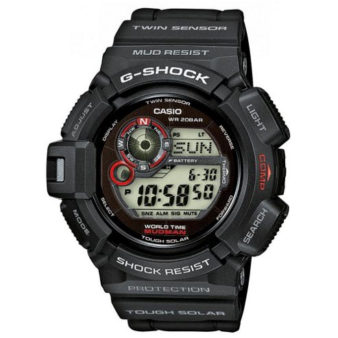Casio Mudman Solar G Shock Watch G-9300-1ER