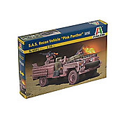Italeri - S.A.S Recon Vehicle Pink Panther - 1:35