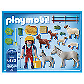 Playmobil Farm Animal Pen