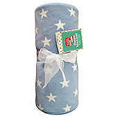 Tesco Loves Baby Fleece Blanket - Stars.