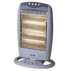 WL42005 Warmlite 1200w Grey Halogen Heater