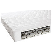 Mamas & Papas cot bed sprung mattress, 140x70cm
