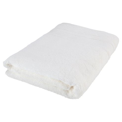 Finest Pima Cotton Bath Towel -  White