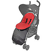 Chicco Fit Footmuff Urban London Echo Multiway Lite Way Red