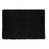 Tesco Soft Shaggy Rug Black 120x170cm