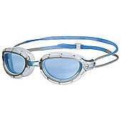 Zoggs Predator Wiro Blue/Silver