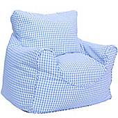 Children's Bean Bag Chair - Blue