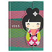 Gogo Magnetic 2015 Diary 2015 A5 Day To Page