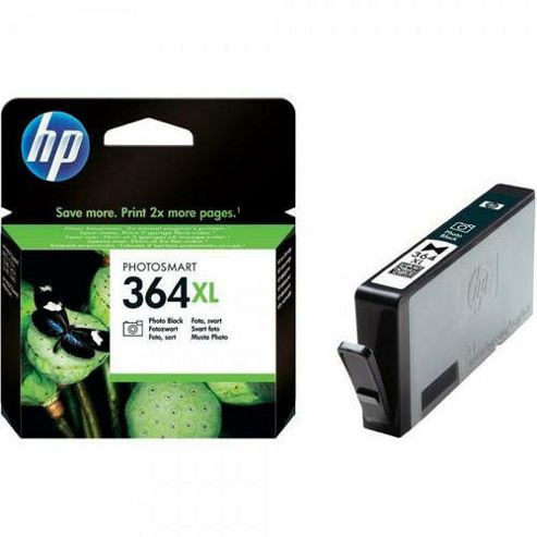 Hewlett-Packard No.364XL Photo Ink Cartridges - Black