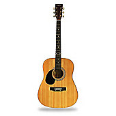 Martin Smith Full Size Left Hand Dreadnought Acoustic Guitar - Natural