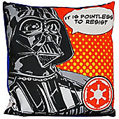 Star Wars Darth Vader Canvas Square Cushion