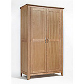 Ametis Sherwood Oak Wardrobe with All Hanging