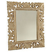 Papa Theo Belladonna Mirror - Natural Limed