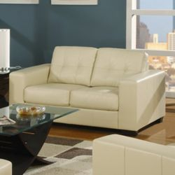 Furniture Link Gemona 2 Seater Sofa - Ivory