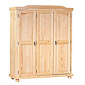 Aspect Design Bern Three Door Wardrobe in Natural