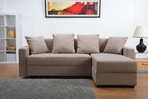 Leader Lifestyle Casa Platform Sofa Bed with Storage