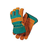 Briers Bo087 Suede Rigger Glove Green X-Large