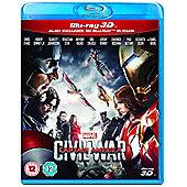 Captain America: Civil War Blu-ray 3D